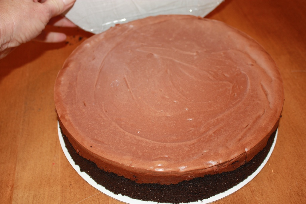 Bailey's Chocolate Mousse Cheesecake - Desserts Required