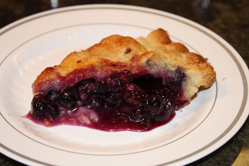 Blueberry Pie - Desserts Required