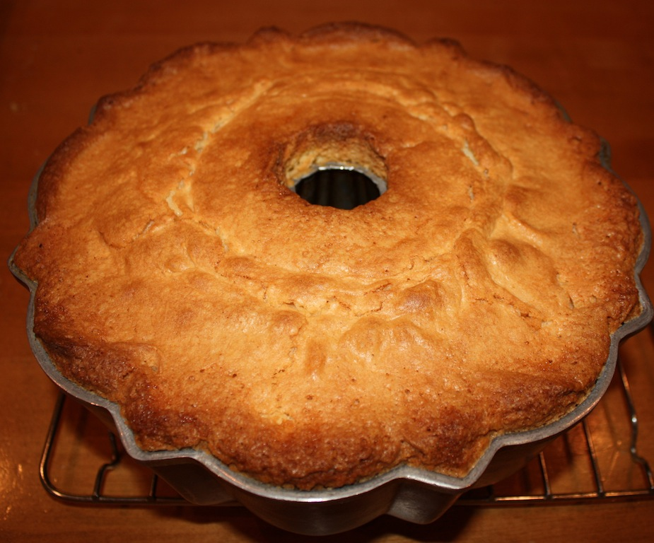 Lemon Blueberry Pound Cake - Desserts Required