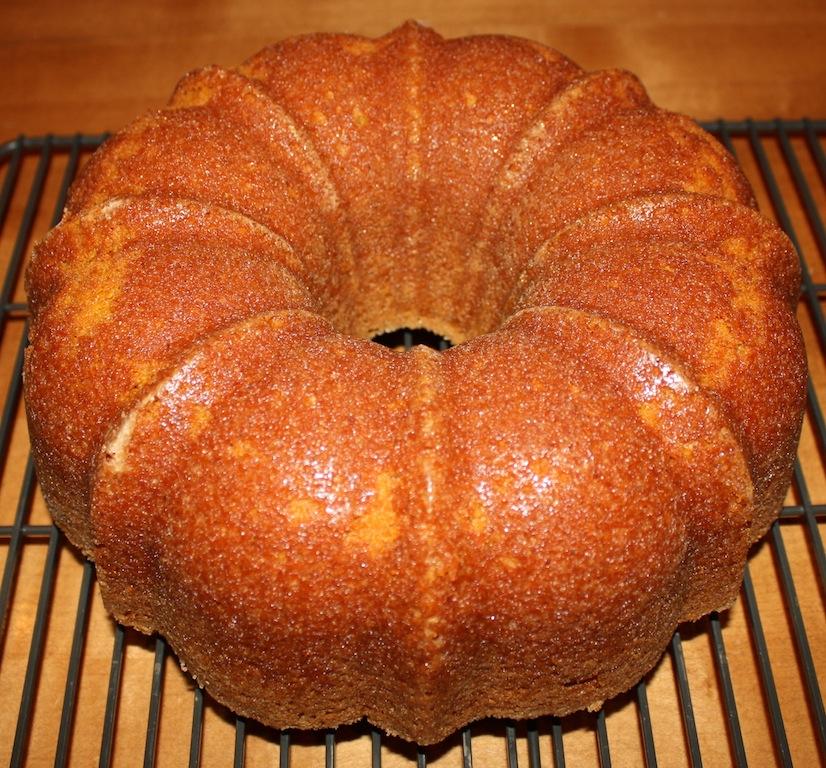 Pumpkin Bundt Cake with Caramel Sauce - Desserts Required