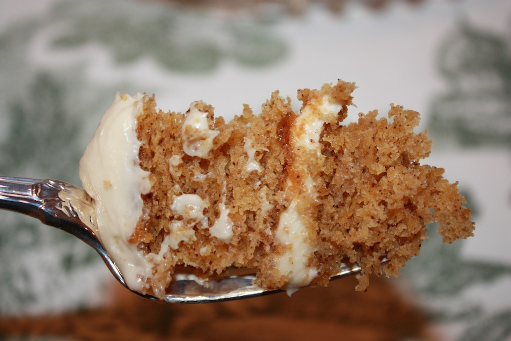 Pumpkin Spice Layer Cake With Caramel And Cream Cheese Frosting Recipe ...