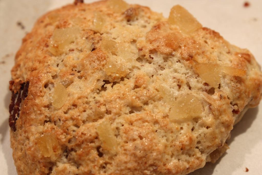 Ginger Pecan Scones - Desserts Required