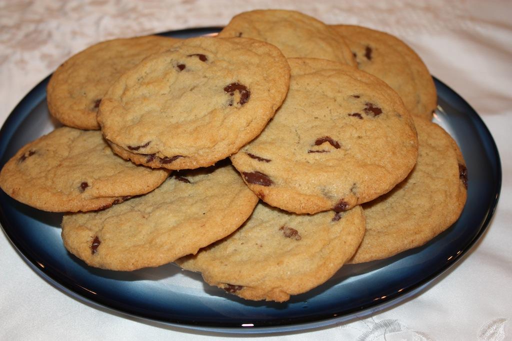 Jumbo Chocolate Chip Cookies - Desserts Required