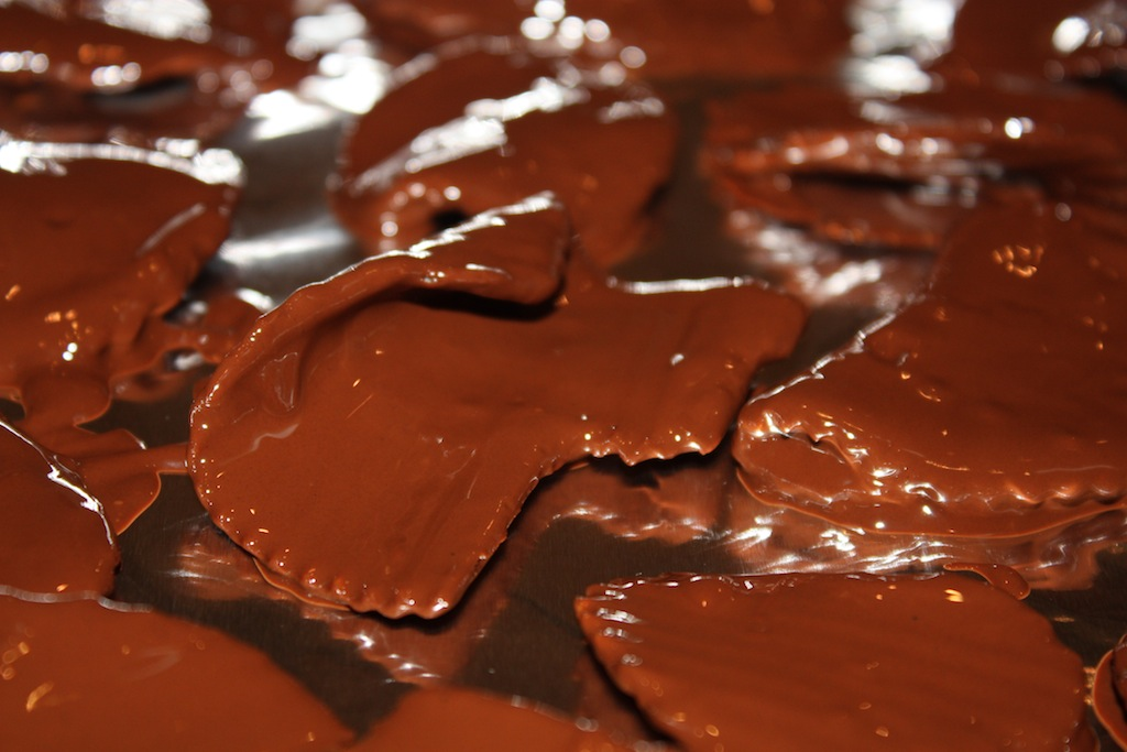Chocolate Covered Potato Chips - Desserts Required