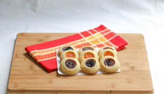 nana's butter cookies horizontal with