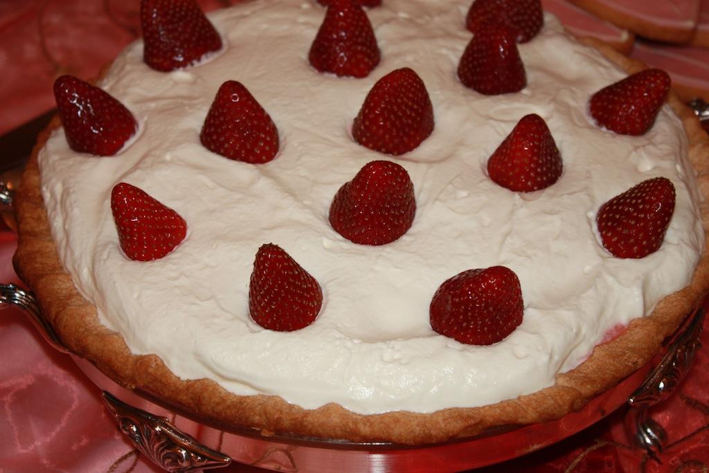 Mom's Strawberry Pie - Desserts Required