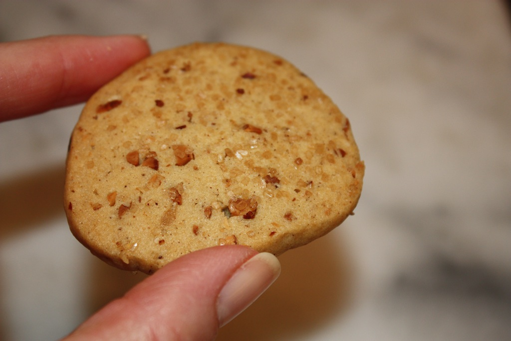 Toasted Almond Cookies - Desserts Required