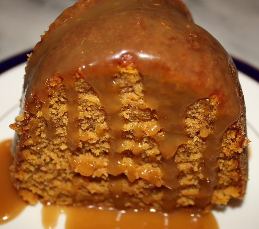 Pumpkin Spice Bundt Cake With Salted Caramel Sauce Recipes ...