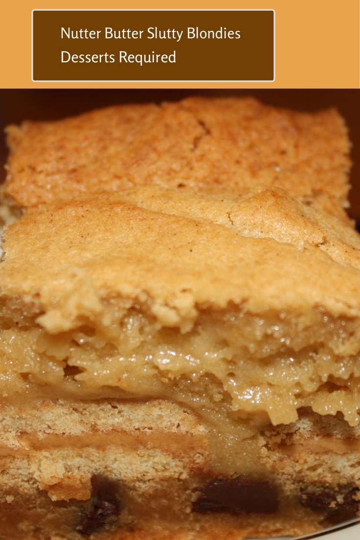 """When I first tried the blondie, I thought, """"I HAVE to make these and ..."""