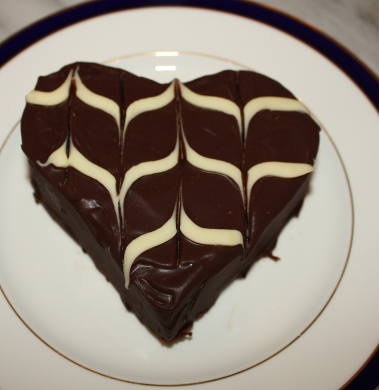 Chocolate Heart Cakes - Desserts Required