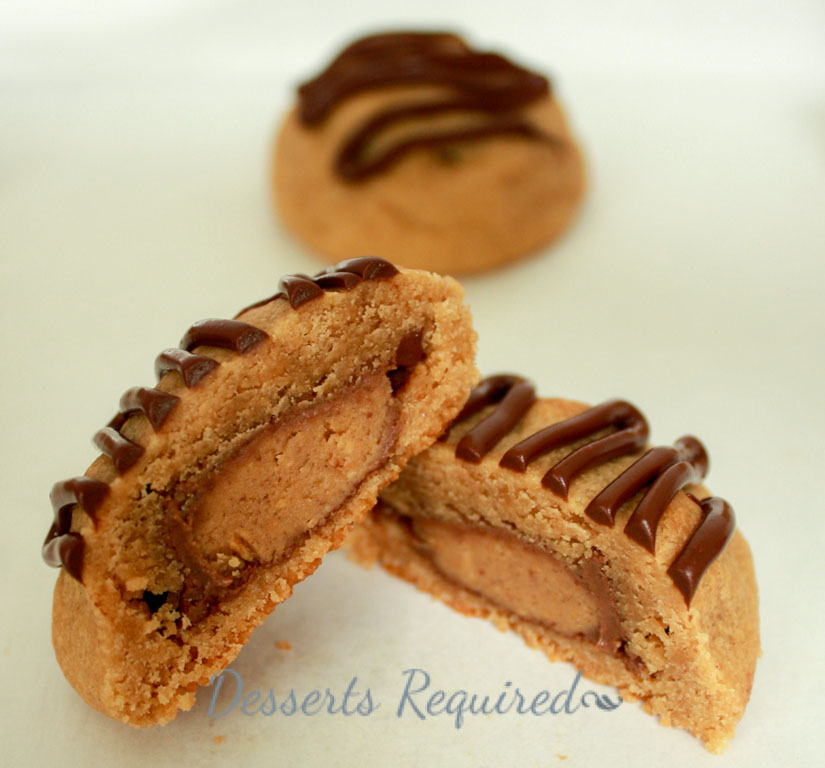 Peanut Butter Cup Surprise Cookies Recipe — Dishmaps