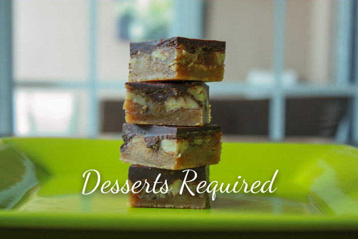 Butter Pecan Turtle Bars - Desserts Required