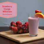 Dessets Required - Strawberry Orange Milkshake