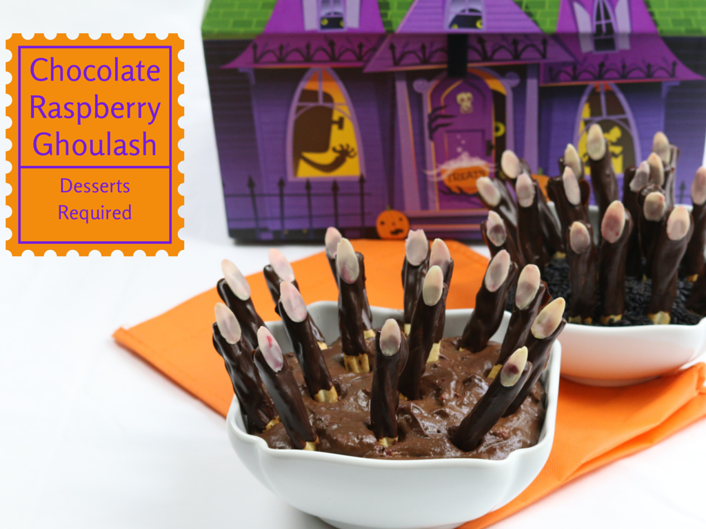 Desserts Required - Chocolate Raspberry Ghoulash