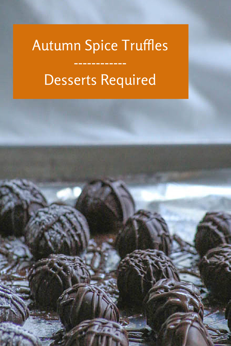 Desserts Required - Autumn Spice Truffles