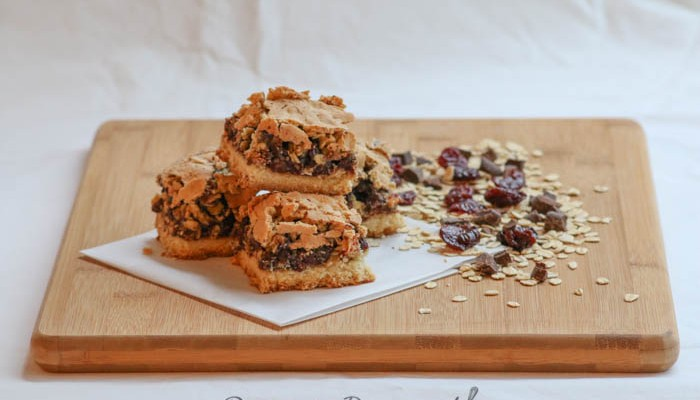 Desserts Required - Oatmeal Cherry Chocolate Bars
