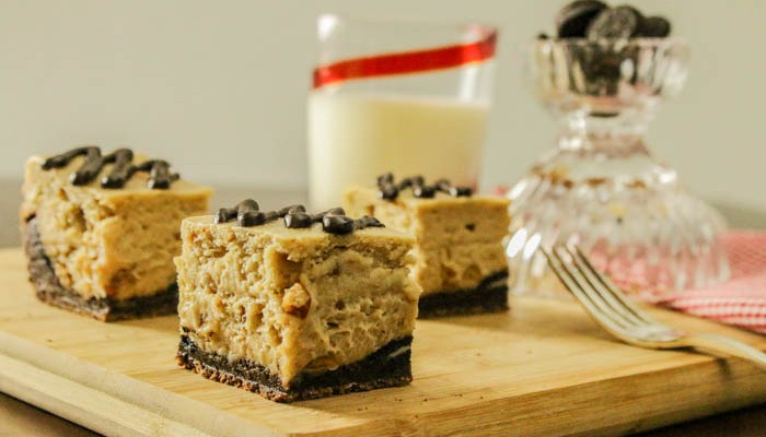Desserts Required - Peanut Butter Cheesecake Chocolate Cookie Brownies