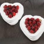 Desserts Required - Raspberry Meringue Hearts