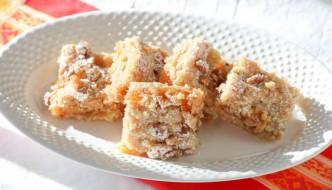 Desserts Required - Apricot Walnut Bars