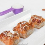 Desserts Required - Southern Peach Pecan Bars
