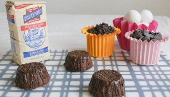 Desserts Required - Fudgy Mexican Chocolate Cakelettes