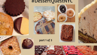 Desserts Required's DessertQuestNYC - this segment covers Dough, Doughnut Plant, Harbs, FIKA, La Bergamote, Fat Witch, Mŏkbar, Liddabit Sweets and Sarabeth's.