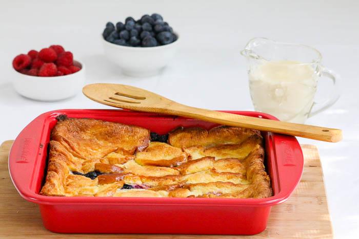 Berry Brioche Bread Pudding - Desserts Required
