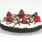 Chocolate Strawberry Tart  #SundaySupper #FLStrawberry
