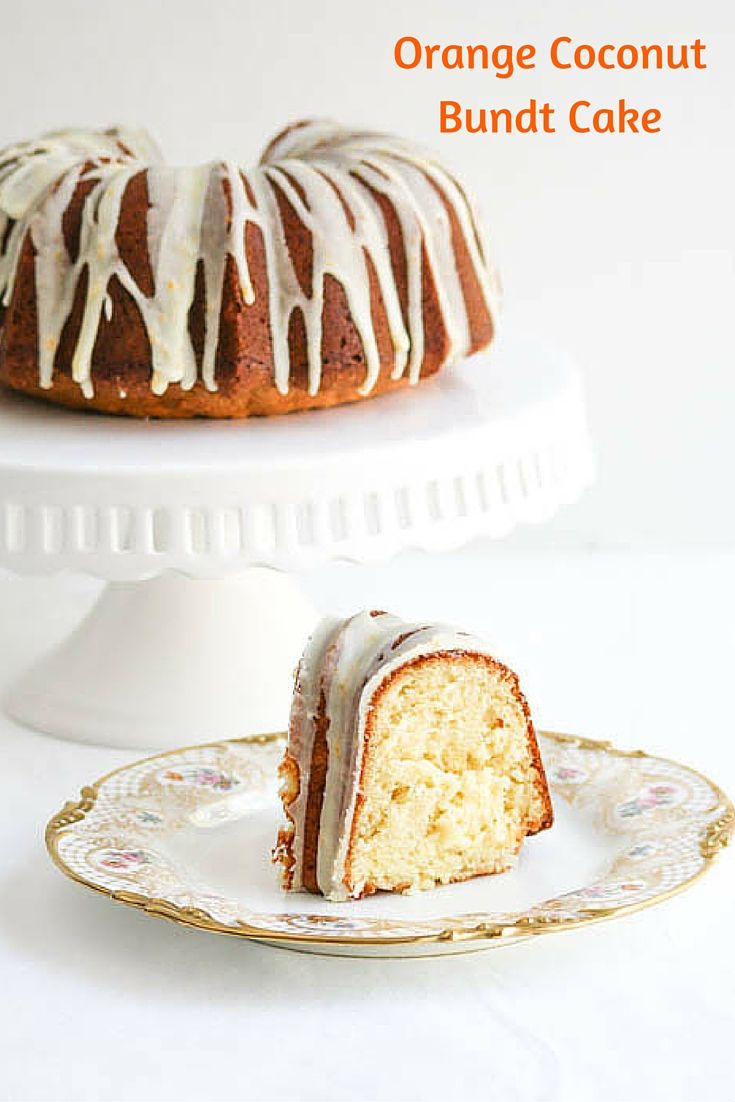 Orange Coconut Bundt Cake is a special dessert that is perfect to celebrate the change in season. It will cause you to spring into action and bake!
