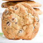 Jumbo Chocolate Chip Walnut Cookies  #SundaySupper