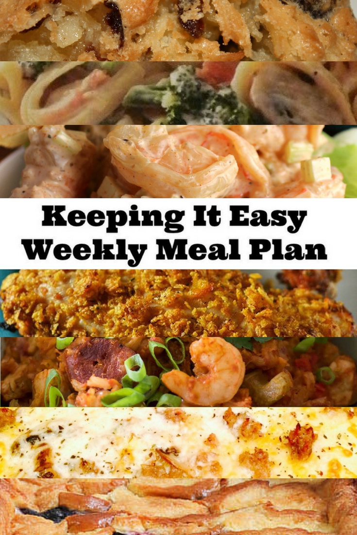 Weekly Meal Plan #9 offers everything from breakfast to dinner to dessert.