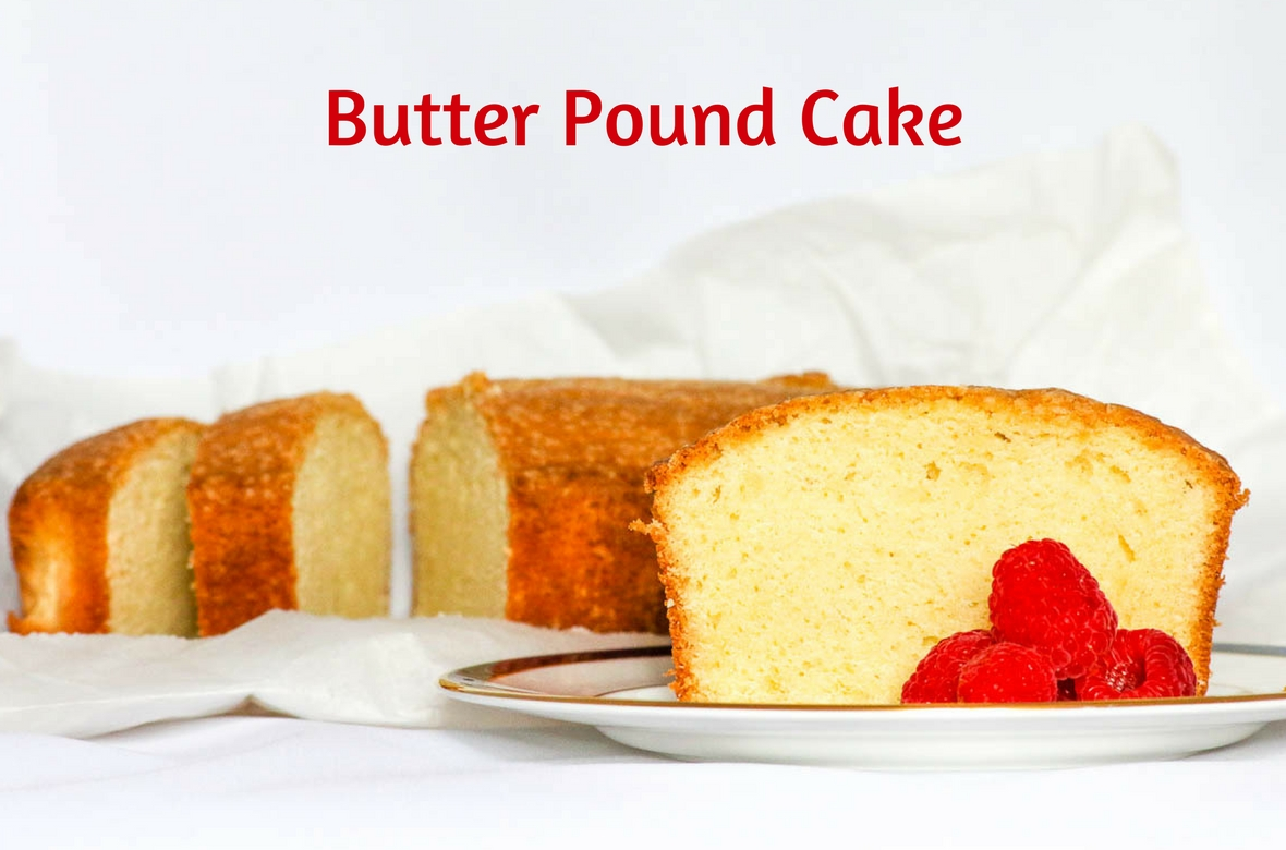 Desserts Made With Pound Cake Mix