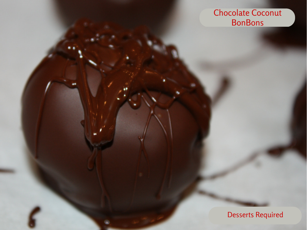 Weekly Meal Plan #21 - Chocolate Coconut BonBons