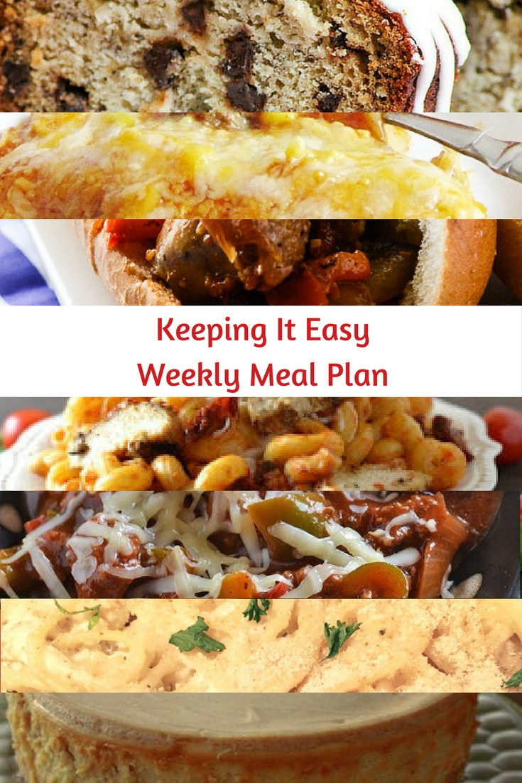 Weekly Meal Plan #39