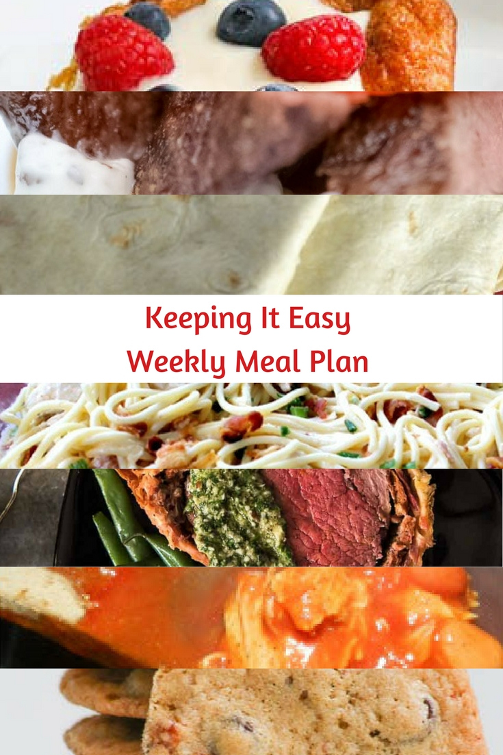 Weekly Meal Plan #51 is filled with delicious breakfast, lunch and dinner options. Easy Weeknight Meal Ideas for you!